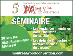 Séminaire - Montreal Wood Convention 2017