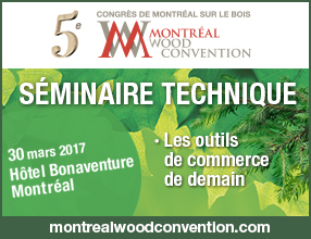 Séminaire technique - Montreal Wood Convention 2017